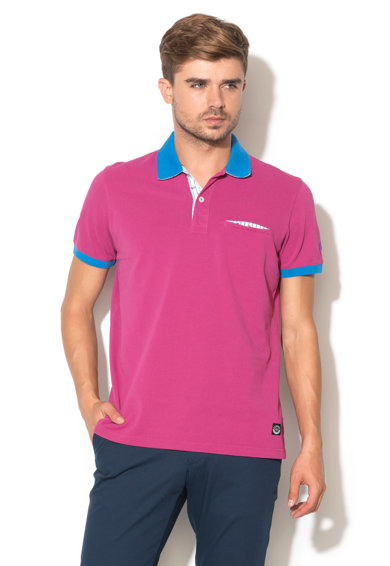 Imagine Tricou polo din material pique Anatoliy