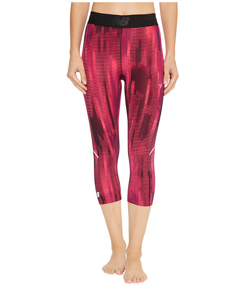 Imagine New Balance Accelerate Capris Printed