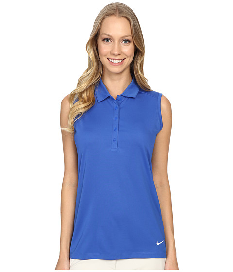 Imagine Nike Victory Solid Sleeveless Polo