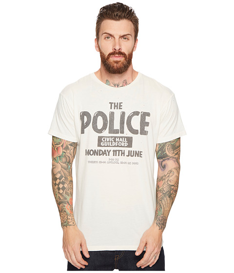 Imagine The Original Retro Brand The Police Guilford Vintage Distressed Concert T-Shirt