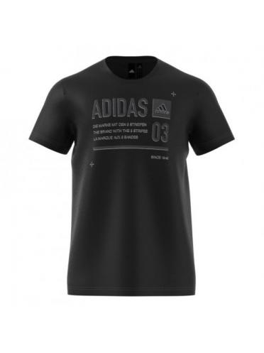 Imagine Tricou Adidas Lineage ID Black di0297
