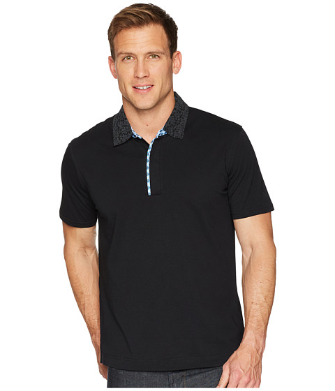 Imagine Robert Graham Diego Short Sleeve Knit Polo