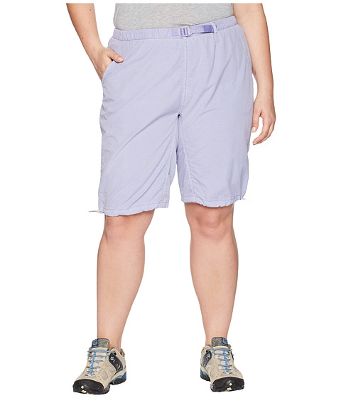 Imagine White Sierra Plus Size Hanalei Bermuda Short