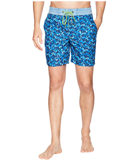 Imagine Robert Graham Santa Maria Woven Swim Trunk