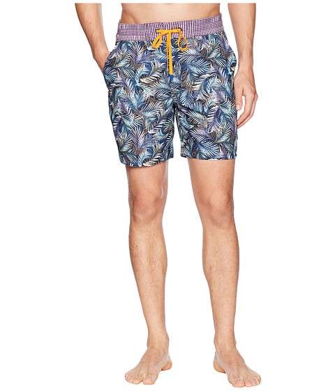 Imagine Robert Graham La Pinta Woven Swim Trunk