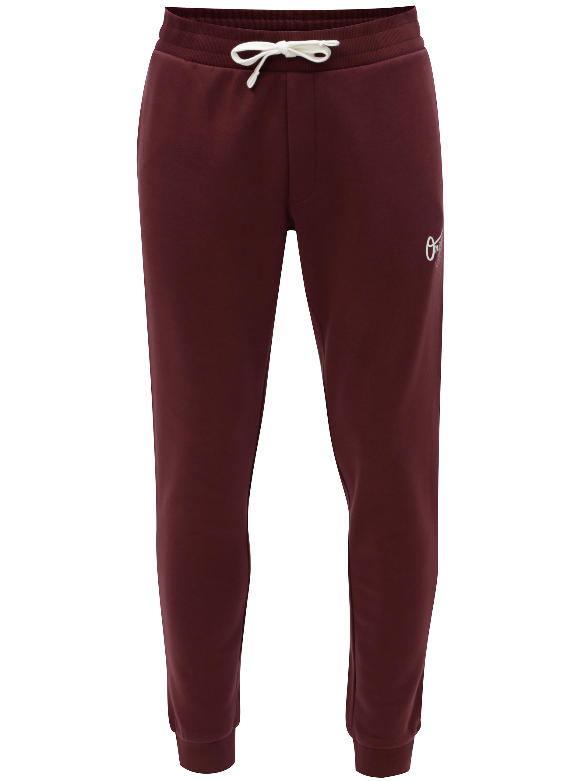 Imagine Pantaloni sport visinii cu print Jack & Jones