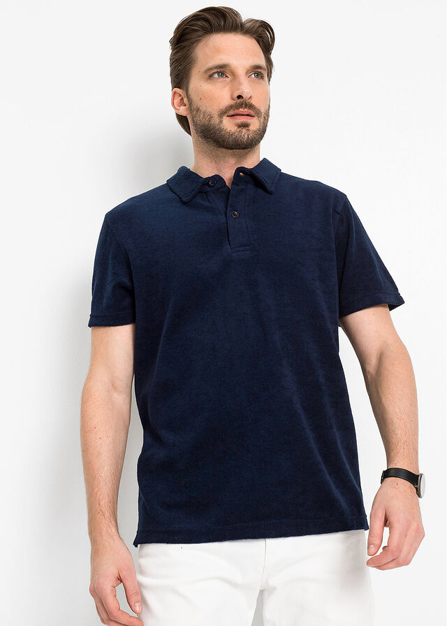 Imagine Tricou polo flauşat