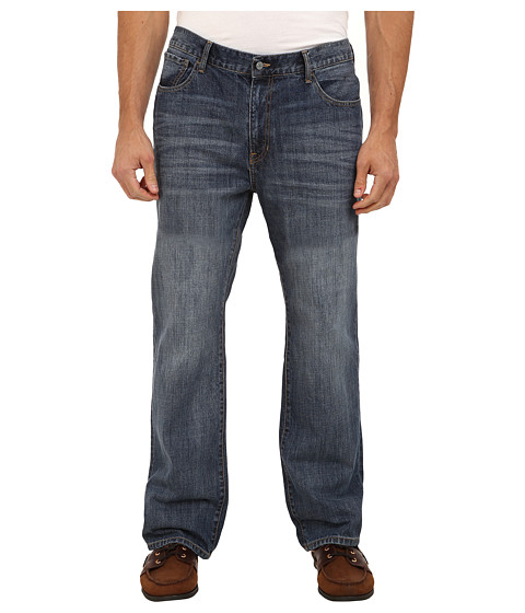 Imagine IZOD Big & Tall Relaxed Fit Jean in Patriot Blue