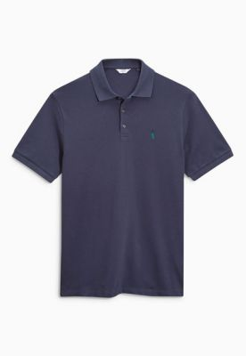 Imagine Tricou polo albastru mineral
