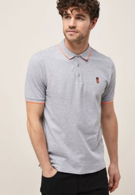 Imagine Tricou polo slim fit de pique