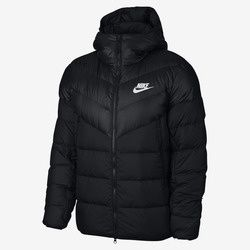Imagine Geaca barbati Nike Sportswear Windrunner Down Fill Men's Hooded Jacket 928833-010