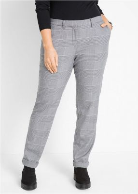 Imagine Pantaloni cu model Glencheck