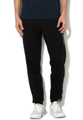 Imagine Pantaloni jogger cu insertii de nailon
