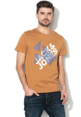 Imagine Jack & Jones, Tricou regular fit cu imprimeu grafic Booster