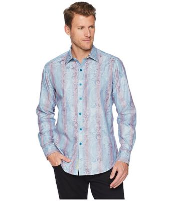 Imagine Robert Graham Patel Long Sleeve Woven Shirt