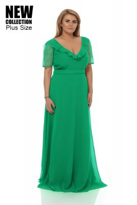 Imagine Rochie Plus Size Lavinia Verde