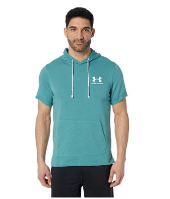 Imagine Under Armour Sportstyle Terry Short Sleeve Hoodie