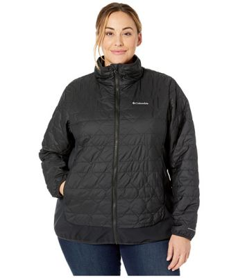 Imagine Columbia Plus Size Seneca Basin™ Hybrid Jacket