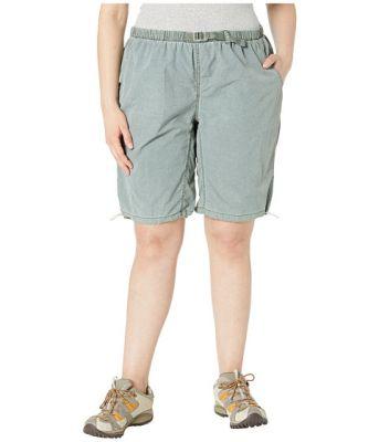 Imagine White Sierra Plus Size Hanalei Bermuda Short