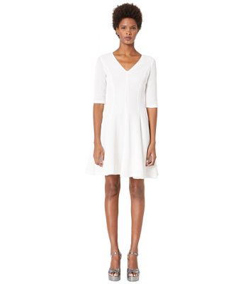 Imagine Boutique Moschino Quarter Sleeve Fit and Flare Dress
