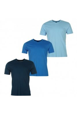 Imagine Donnay Three Pack V Neck T Shirt Mens