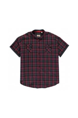 Imagine D555 Herbie Short Sleeve Check Shirt Mens