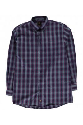 Imagine Fusion Plaid Check Shirt Mens