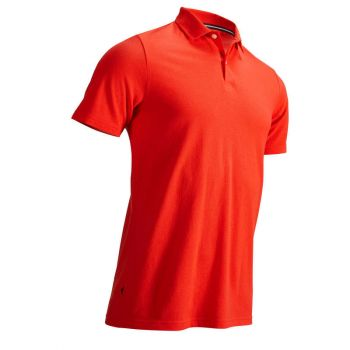 Imagine Tricou polo golf Roșu/Corai Bărbați INESIS