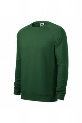 Imagine Bluza pentru barbati, Verde sticla melanj, 415/8, 3XL