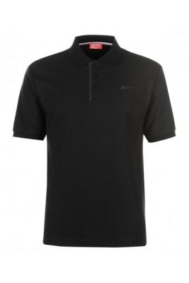 Imagine Slazenger Plain Polo Shirt Mens