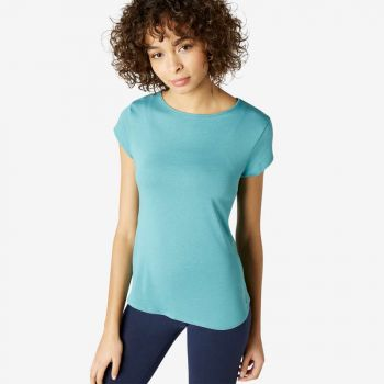 Imagine Tricou 520 Pilates albastru Damă NYAMBA
