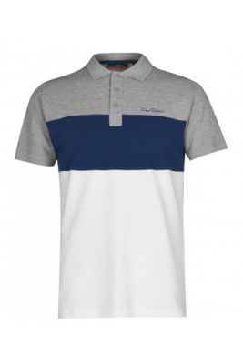 Imagine Pierre Cardin Cut And Sew Polo Shirt Mens