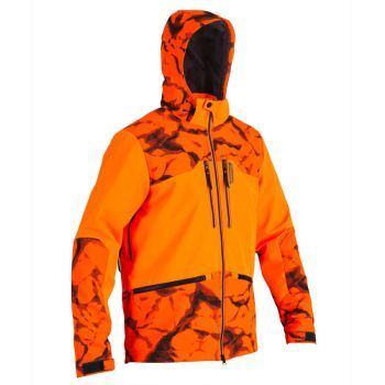 Imagine Geacă SOFTSHELL 500 FLUO rock SOLOGNAC