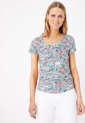 Imagine Tricou cu model floral