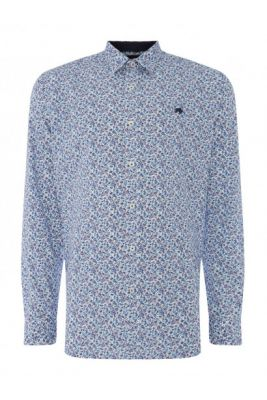 Imagine Raging Bull Raging Long Sleeve Floral Shirt Mens