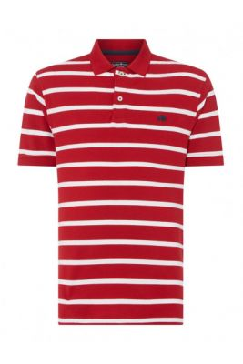 Imagine Raging Bull Breton Stripe Polo
