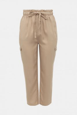 Imagine Beige trousers ONLY CARMAKOMA Stello