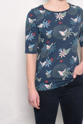 Imagine Brakeburn Blue Floral T-Shirt