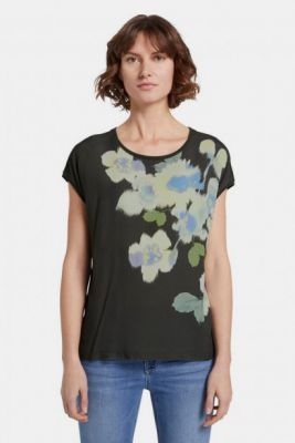 Imagine Khaki Women's Floral T-Shirt Tom Tailor