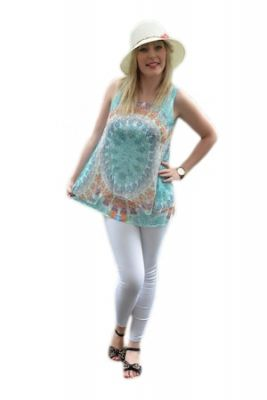 Imagine Bluza de vara, turcoaz, D&J Exclusive, 48 EU
