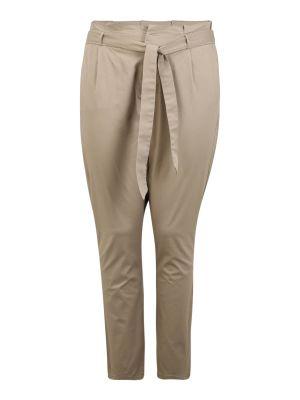 Imagine Vero Moda Curve Pantaloni 'VMEVA' bej