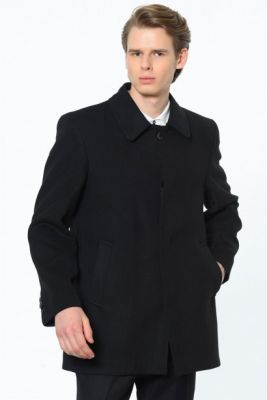 Imagine SICAK KIŞ MODASI PLT8206 DEWBERRY MEN's COAT-BLACK