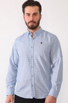Imagine G688 DEWBERRY MEN's SHIRT-OUTDOOR BLUE