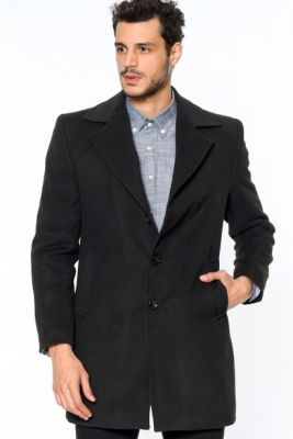 Imagine PLT8319 DEWBERRY MEN's COAT-BLACK