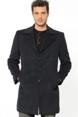 Imagine PLT8319 DEWBERRY MEN's COAT-LACİVERT