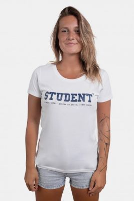 Imagine White Women's T-Shirt ZOOT Original Student