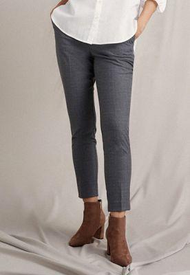Imagine Pantaloni conici cu talie inalta