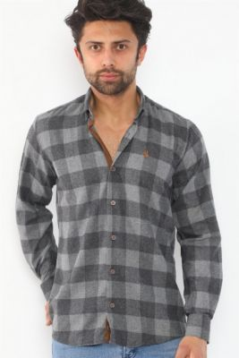 Imagine G714 DEWBERRY MEN'S SHIRT-ANTHRACİt