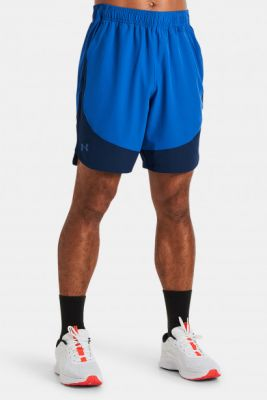 Imagine Under Armour Hiit Woven Colorblock Sts-BLU Shorts